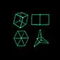 Foldable Hexahedron & Tetrapod