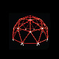 Regular Icosahedron & Geodesic Dome